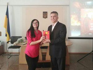 Презентація книги Ольги Кирилюк «Іду на мир»