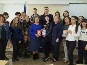 Зустріч із членом Національної Спілки письменників України, дитячою письменницею Зіркою Ментазюк