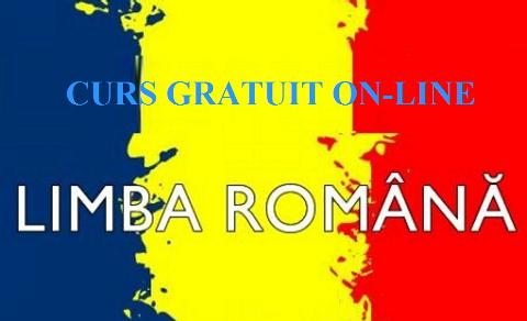 CURS DE LIMBA ROMÂNĂ