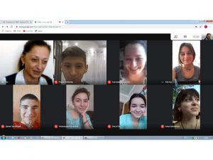 онлайн-зустріч зі студентами-першокурсниками