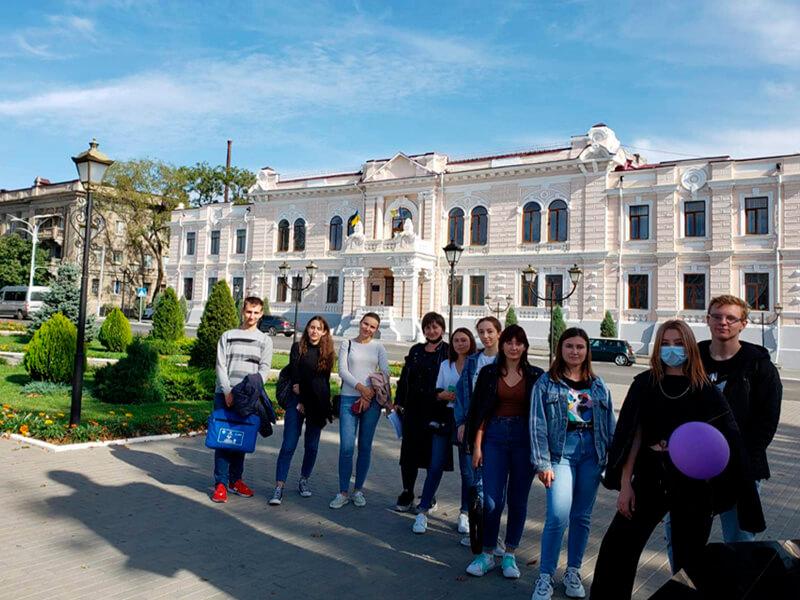 16 жовтня студенти ФУАІД разом зі своїми кураторами пройшли новий  квест «Ізмаїл в деталях»