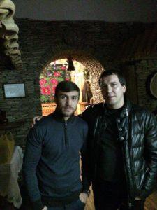 З Василем Ломаченко, двократним олімпійським чемпіоном