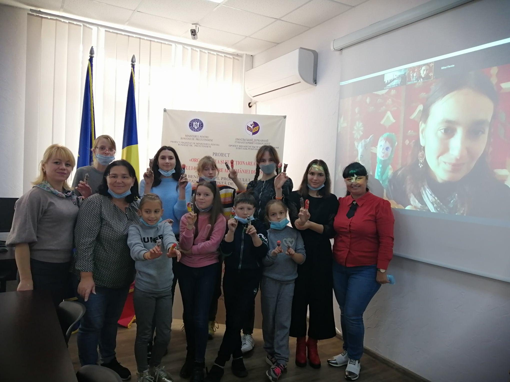 Творча онлайн майстерня «Лялька-мотанка» у партнерстві з Асоціації сучасної культурної ідентичності та Музеєм румунського селянина (Румунія)