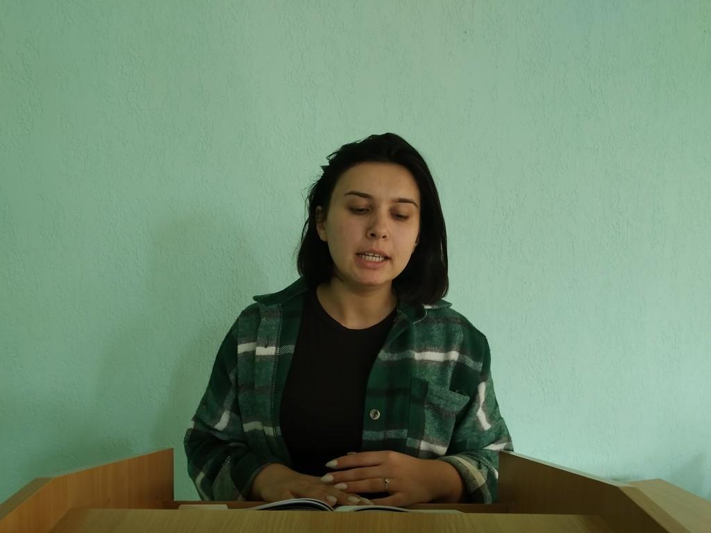Студенти філологи пошановують пам'ять ізмаїльського поета-пасіонарія
